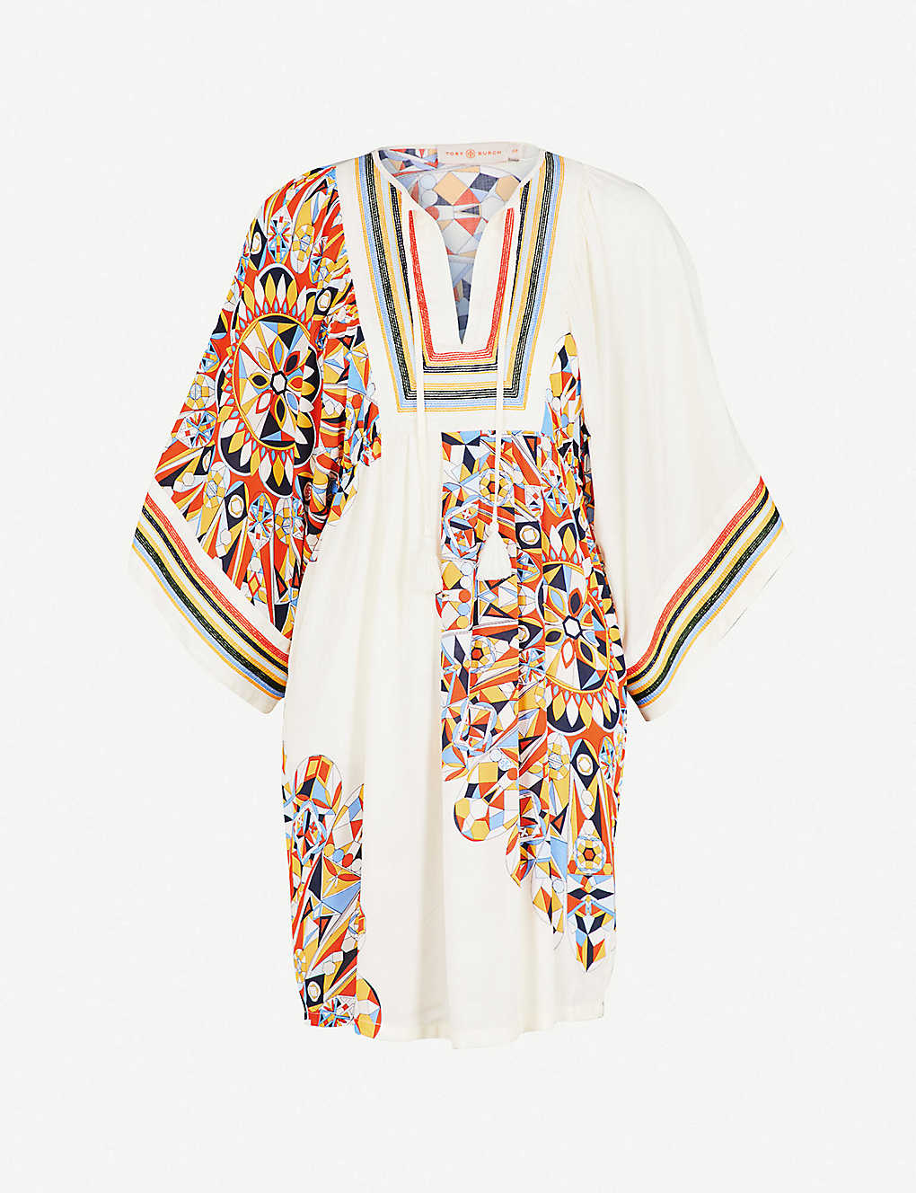 5de78285fd TORY BURCH - Kaleidoscope woven tunic dress | Selfridges.com