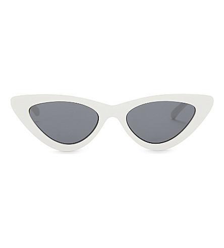 d182475e499d0 ... LE SPECS The Last Lolita cat-eye sunglasses (Whitesmoke+mono.  PreviousNext