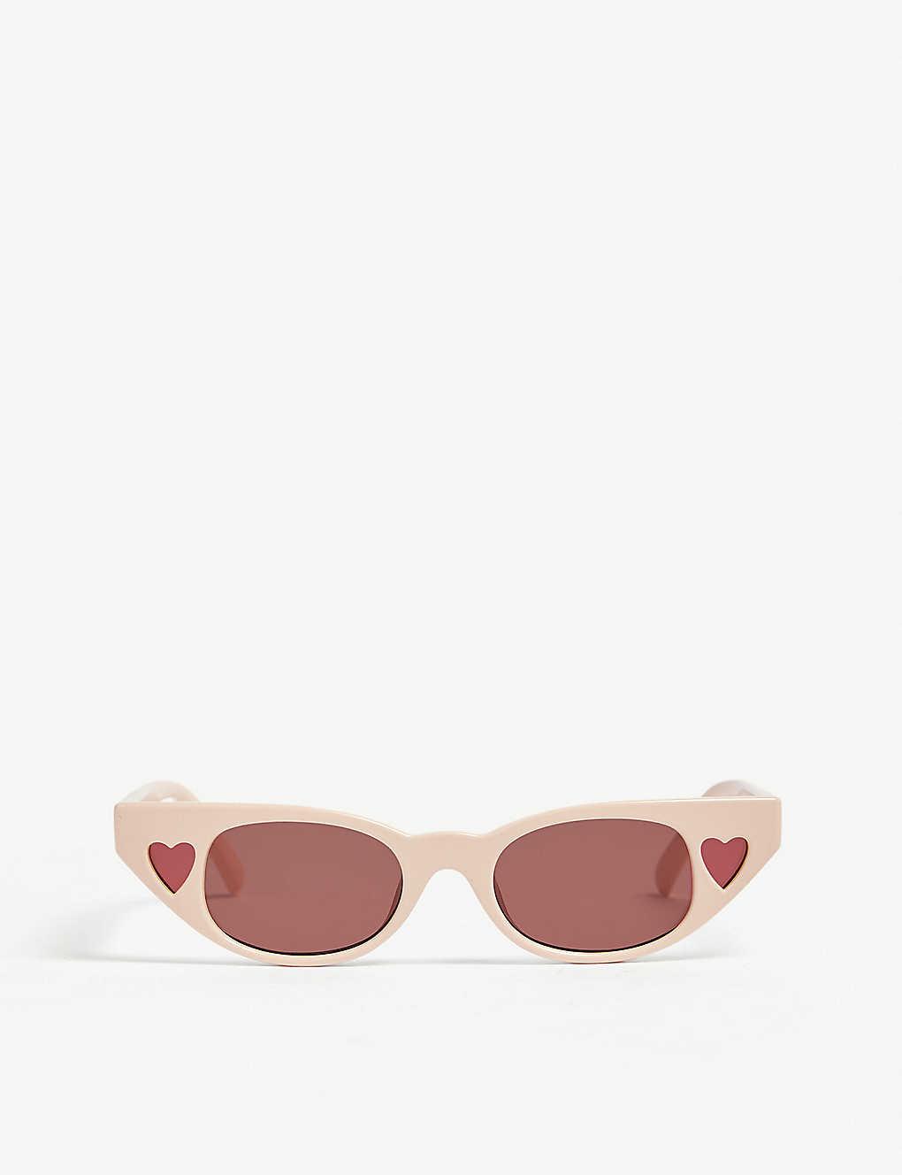 f18a08f99cfec LE SPECS - The Heartbreaker cat eye-frame sunglasses