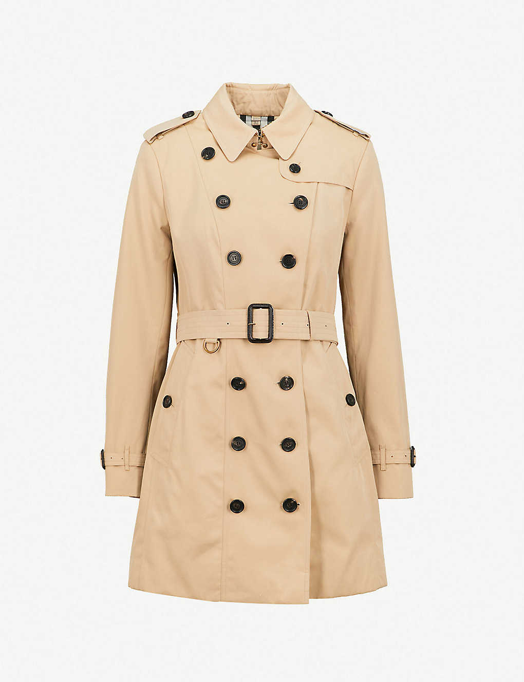 BURBERRY - Sandringham cotton trench coat   Selfridges.com b13da07214b