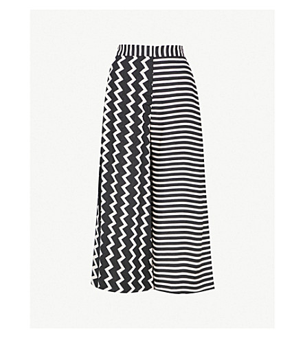 Multi Stripe Culottes