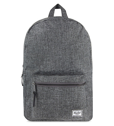 fd79d8992f ... HERSCHEL SUPPLY CO Settlement backpack (Raven+crosshatch. PreviousNext
