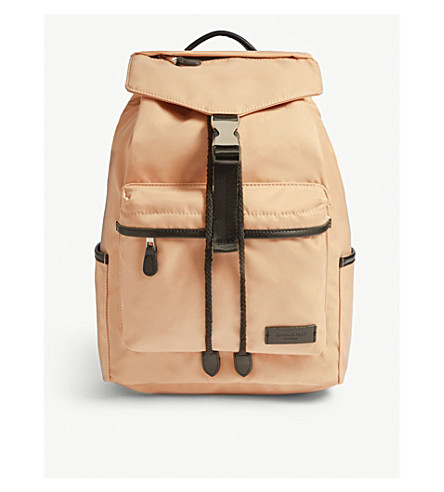 ... Kai nylon and vegan leather backpack (Pale+pink. PreviousNext 0d335e6cd0a3a