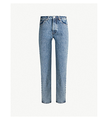Marianne Straight High Rise Jeans by Samsoe & Samsoe