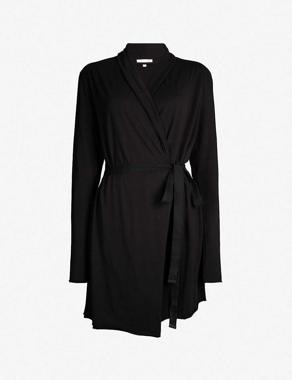 6e7001a4cf SKIN - Wrap cotton dressing gown