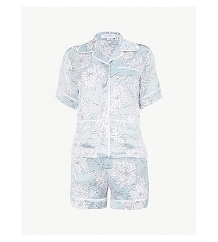 ... OLIVIA VON HALLE Millicent silk pyjama set (Kiko. PreviousNext 0a9fc5353
