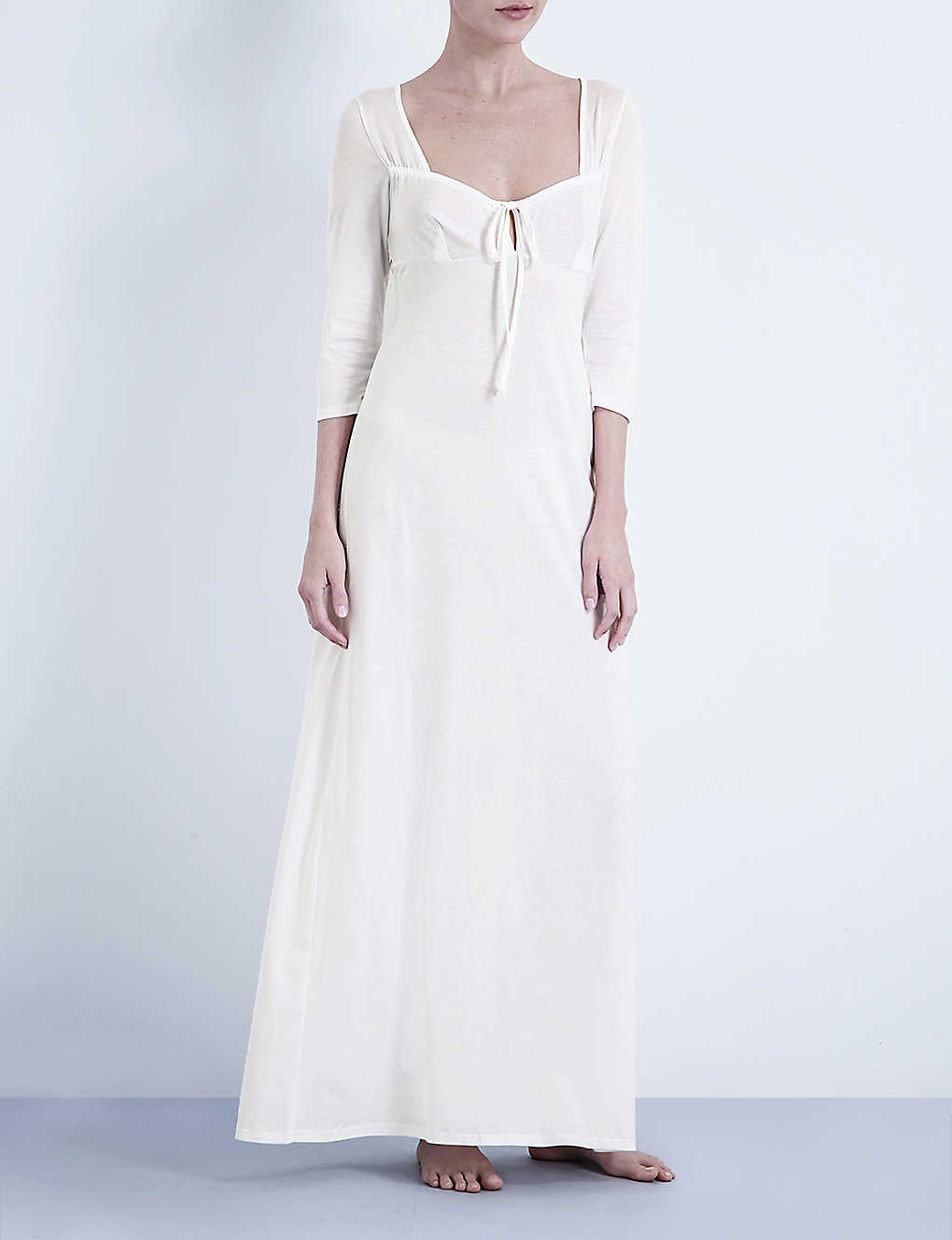 b36688f93e BODAS - Long cotton-jersey nightdress