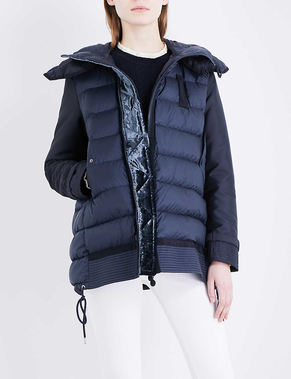 c8dda5087 MONCLER - Harriet hooded quilted shell jacket