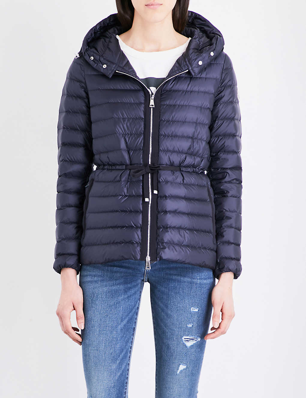 769094e86 MONCLER - Raie quilted coat