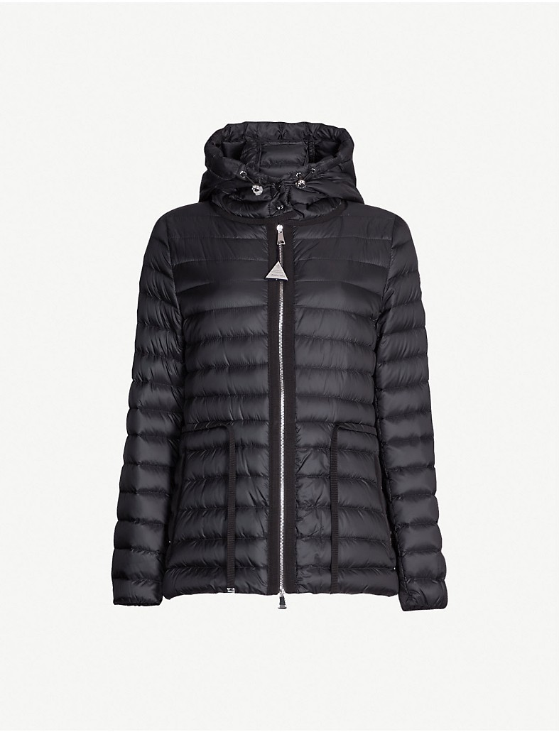 d89c208b0 MONCLER - Raie hooded quilted coat