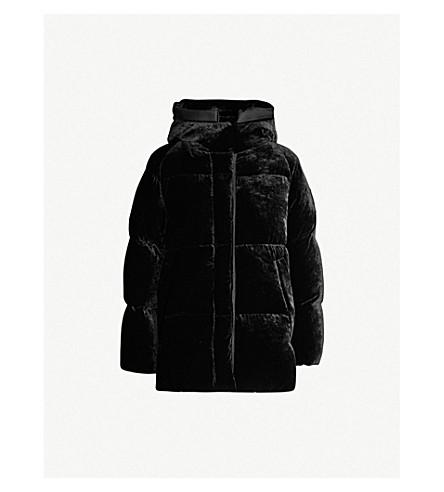 MONCLER - Butor hooded velvet-down jacket  cdf8018ad108
