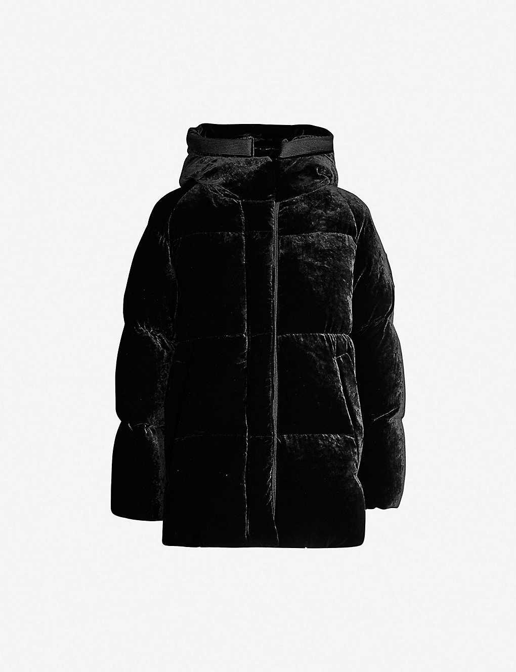 623172ad6afa MONCLER - Butor hooded velvet-down jacket