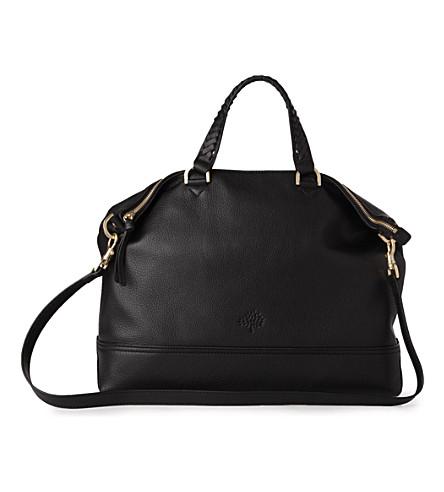 ... handbag suede chocolate 2dec1 807d0  buy mulberry effie tote 8bd7d f49b4 5af5e45012d3f