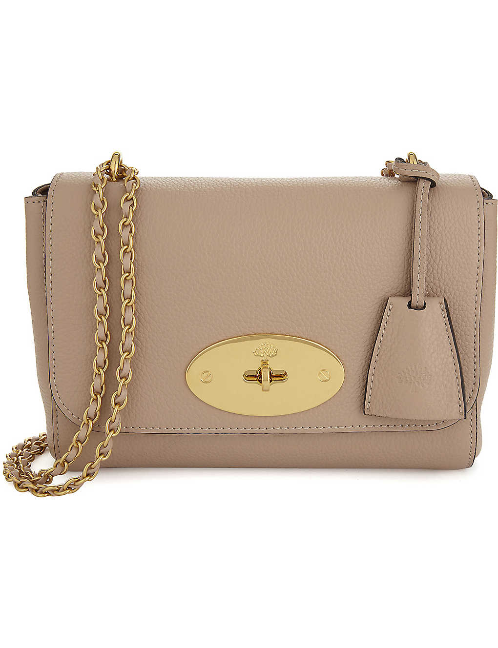 MULBERRY - Lily small grained leather shoulder bag  c330adab7db7f