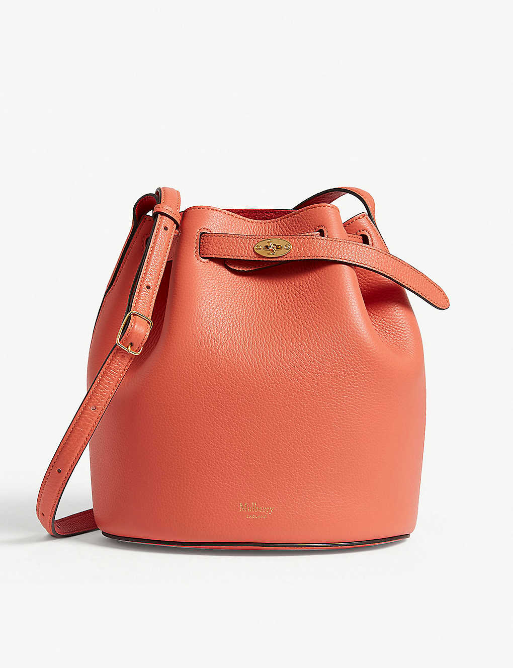 MULBERRY - Abbey leather bucket bag  bd22f6b0add7a