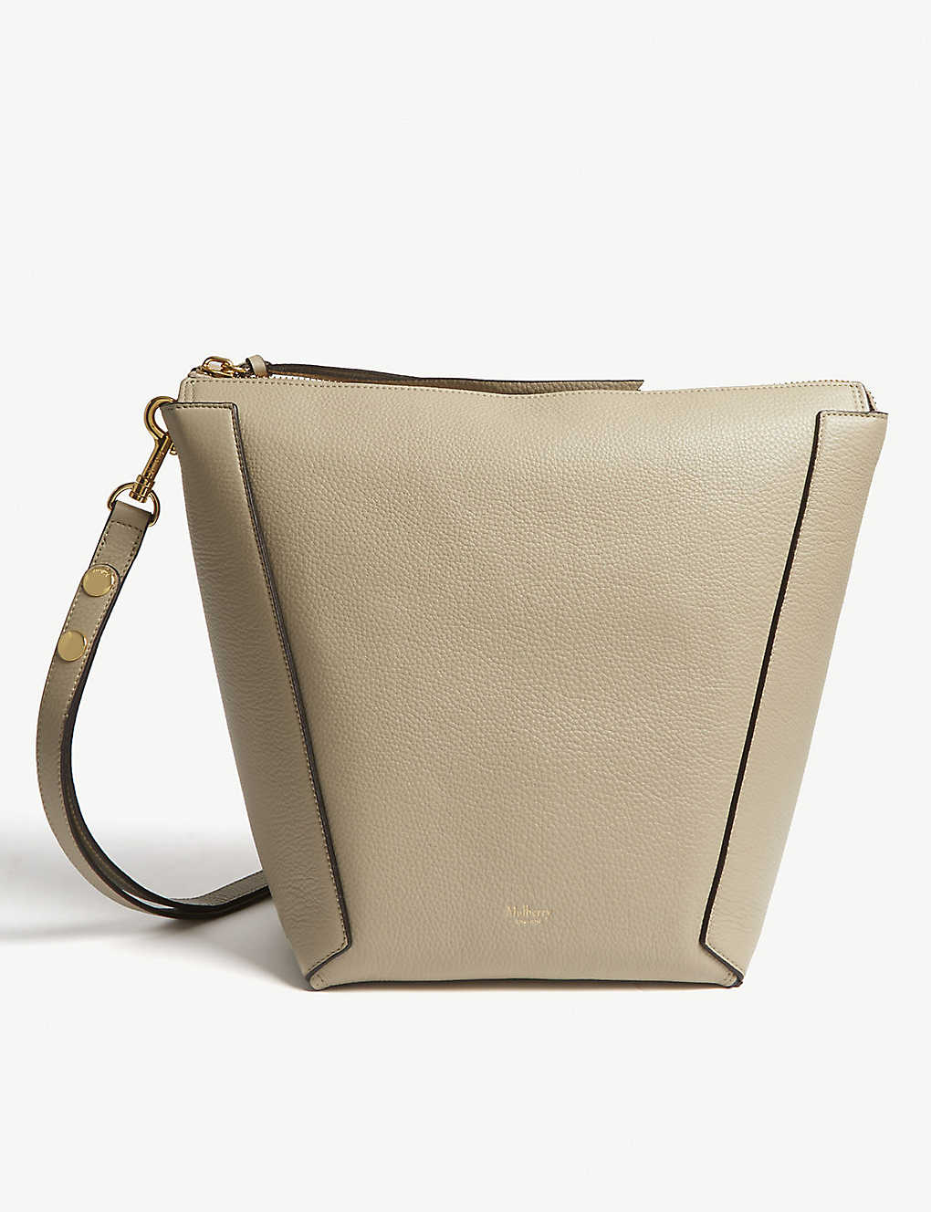 MULBERRY - Camden grained leather hobo bag  44f537db36fe9
