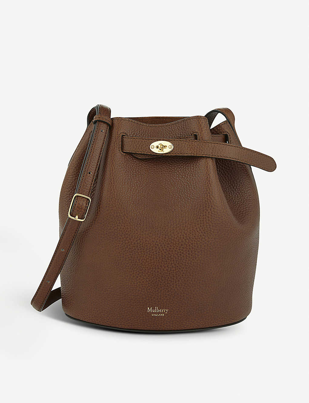 MULBERRY - Abbey leather bucket bag  e5bb3858bffd8