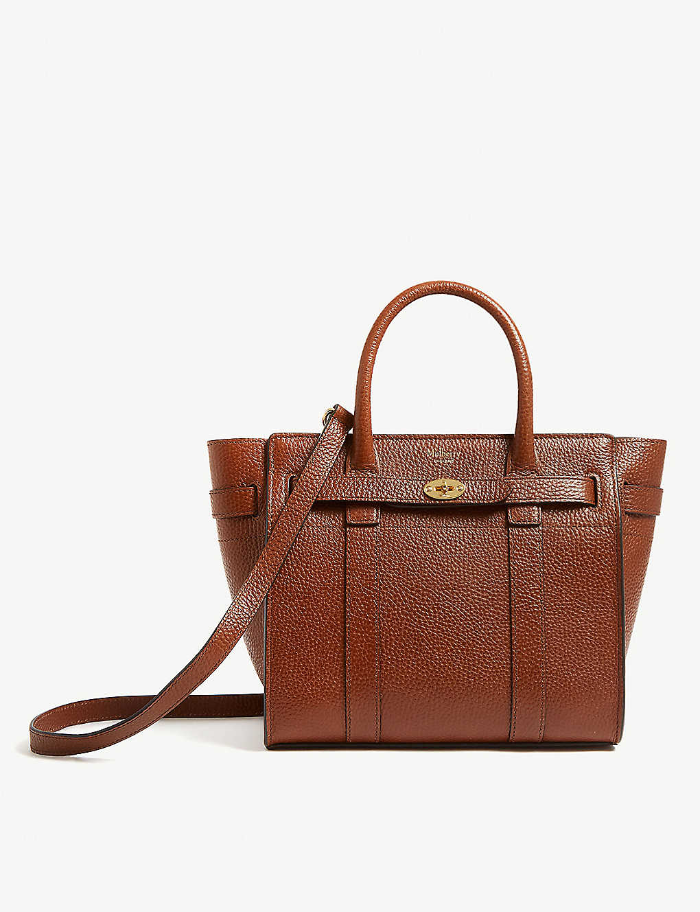 c50b29fad146 MULBERRY - Small Bayswater leather tote bag