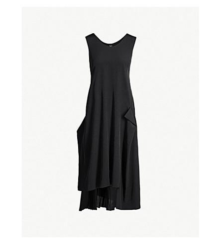 908679ba797 YS - Pleated-panel satin midi dress