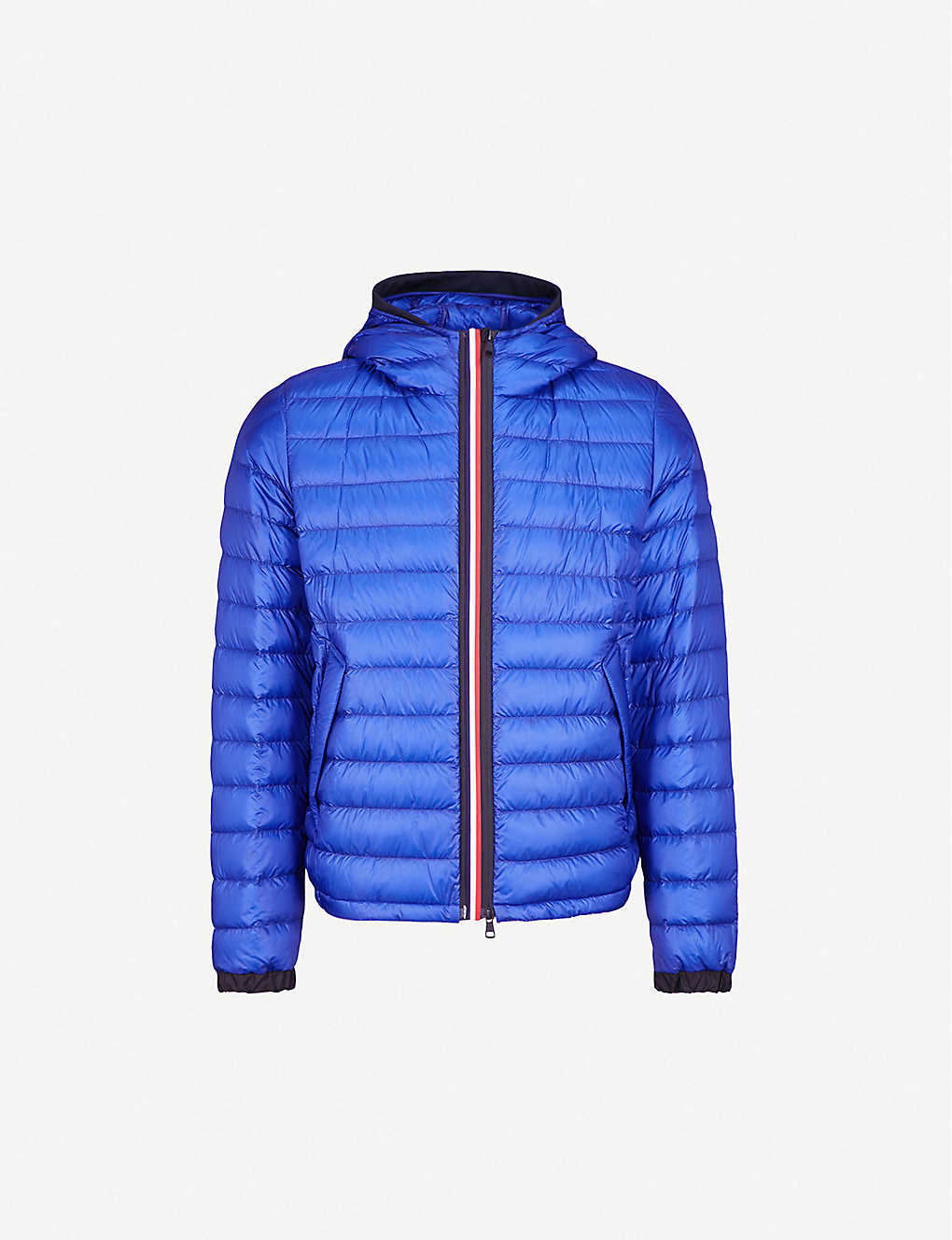74a933c4d362 MONCLER - Morvan hooded quilted shell-down jacket