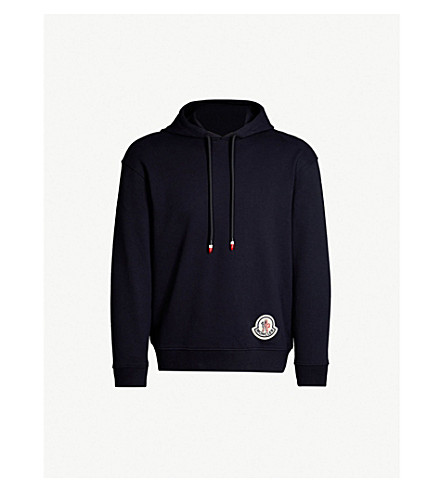 Moncler 2 1952 Logo Appliquéd Cotton Jersey Hoody by Moncler Genius