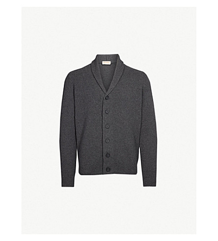 Patterson Cashmere And Wool Cardigan by John Smedley