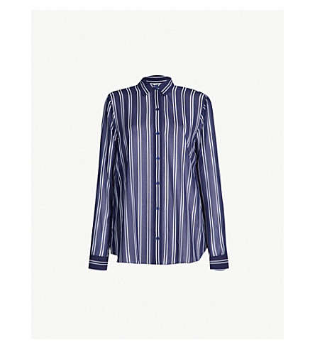 dcd6cc491a MICHAEL MICHAEL KORS - Striped crepe shirt