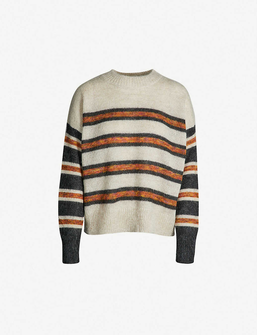 b1a97e80fa ISABEL MARANT ETOILE - Russell striped mohair-blend sweater ...