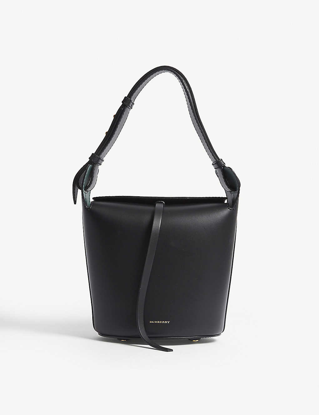 30b6333c658a BURBERRY - Small leather bucket bag