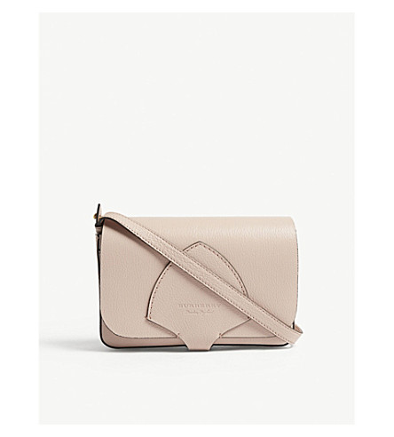 ... BURBERRY Hampshire grained leather wallet-on-chain (Pale+ash+rose.  PreviousNext 0958a21a7342d