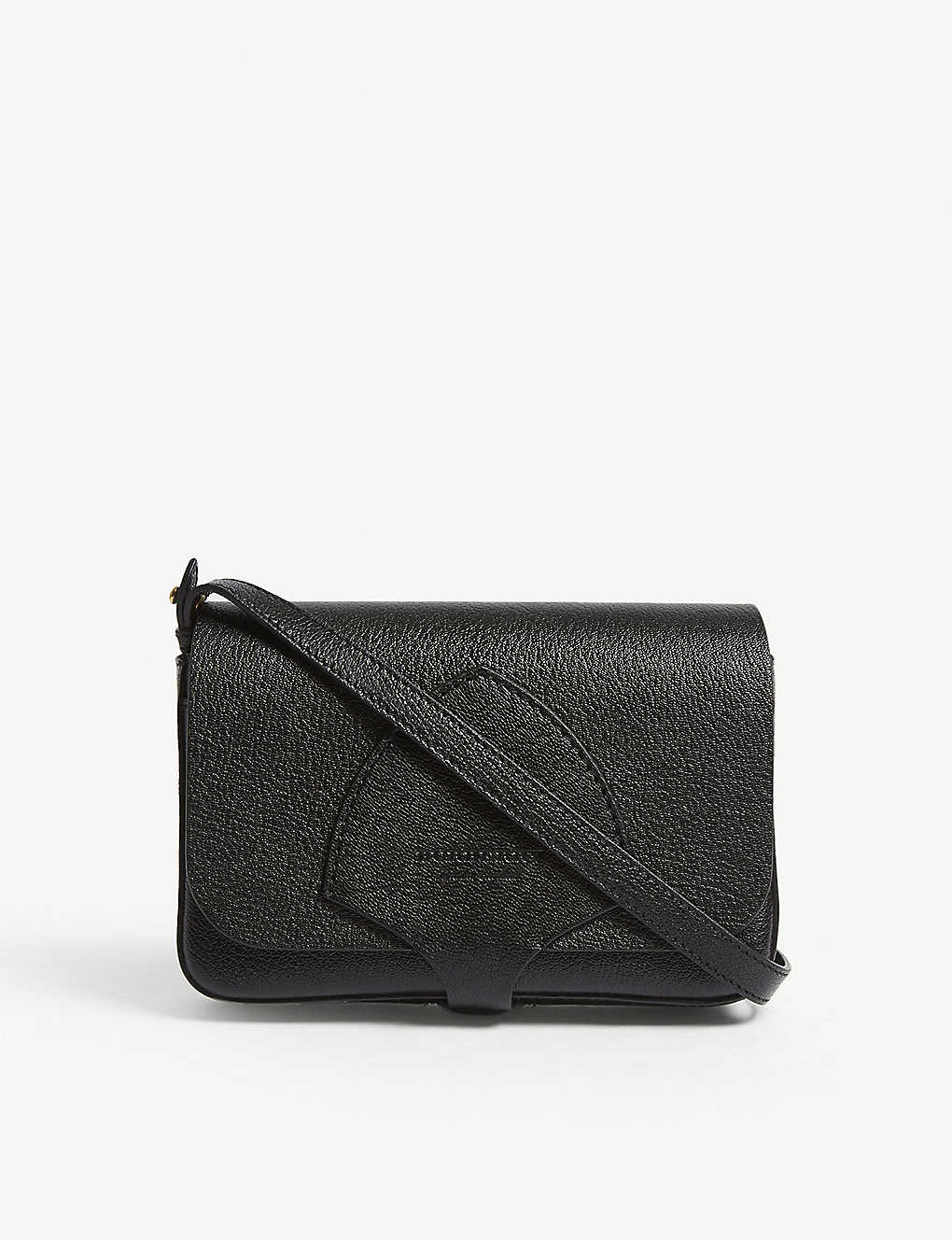 BURBERRY - Hampshire grained leather wallet-on-chain  4919d67d44690