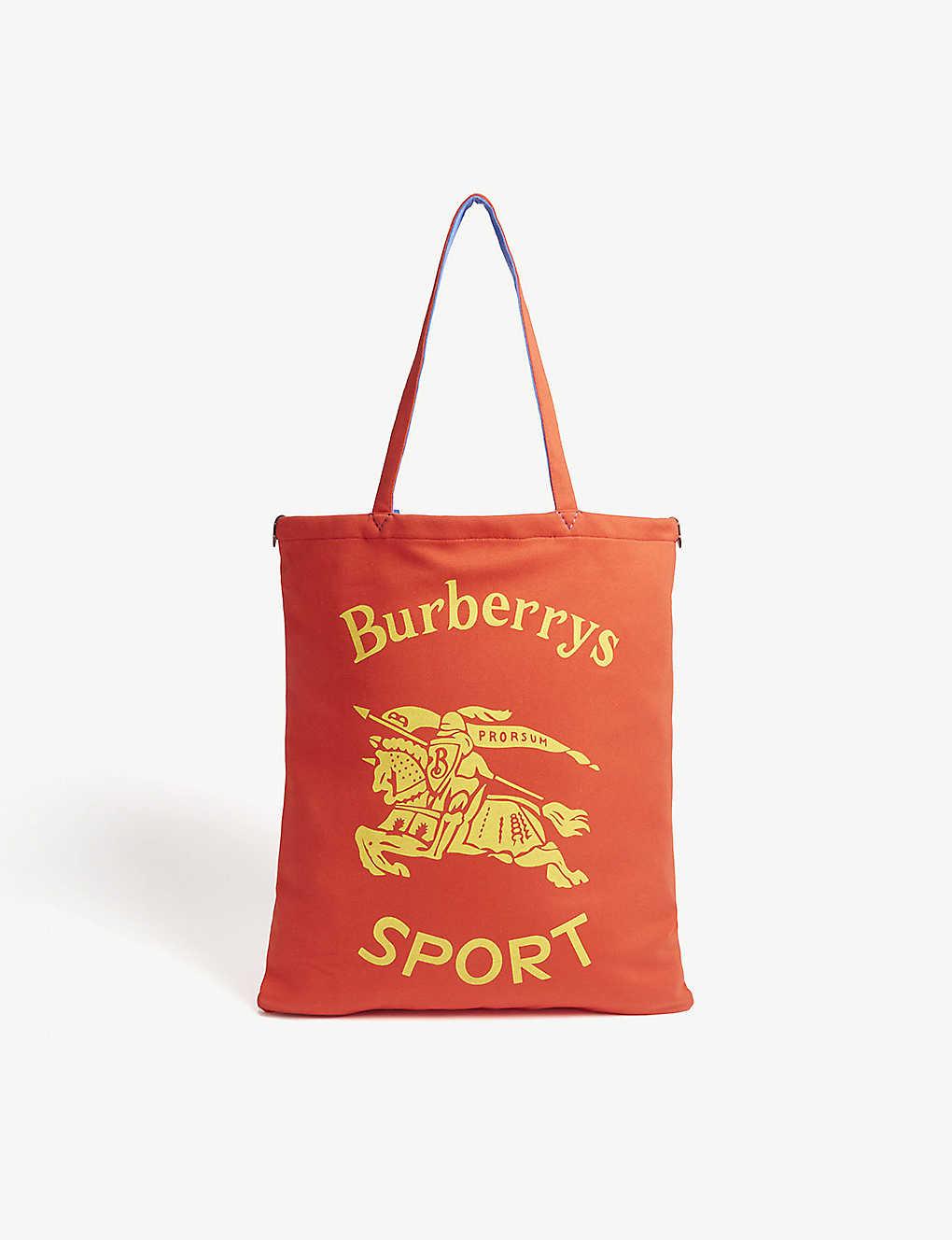 546c600e830a BURBERRY - Logo jersey shopper bag
