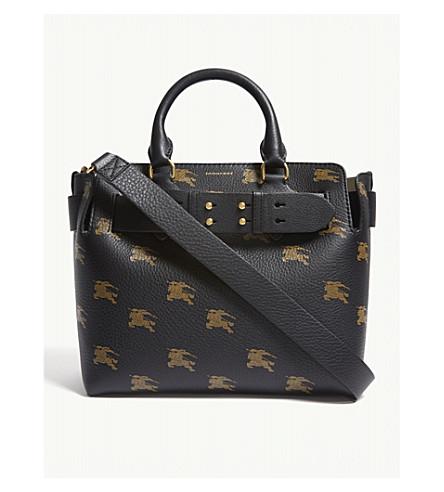 d194a20d4c29 ... BURBERRY Equestrian knight bag (Black. PreviousNext