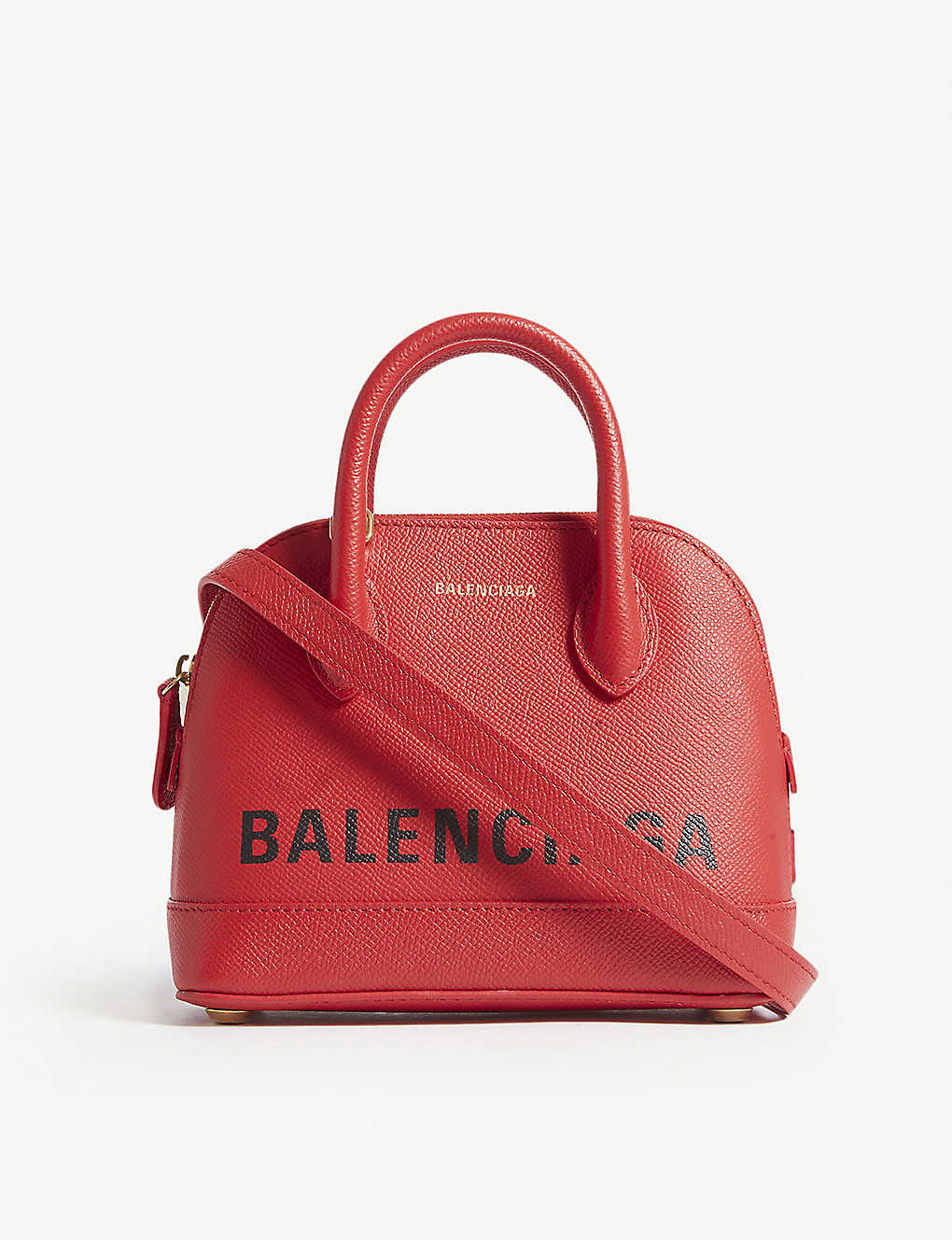 6b01bb9985af BALENCIAGA - Ville Top Handle XXS grained leather tote bag ...
