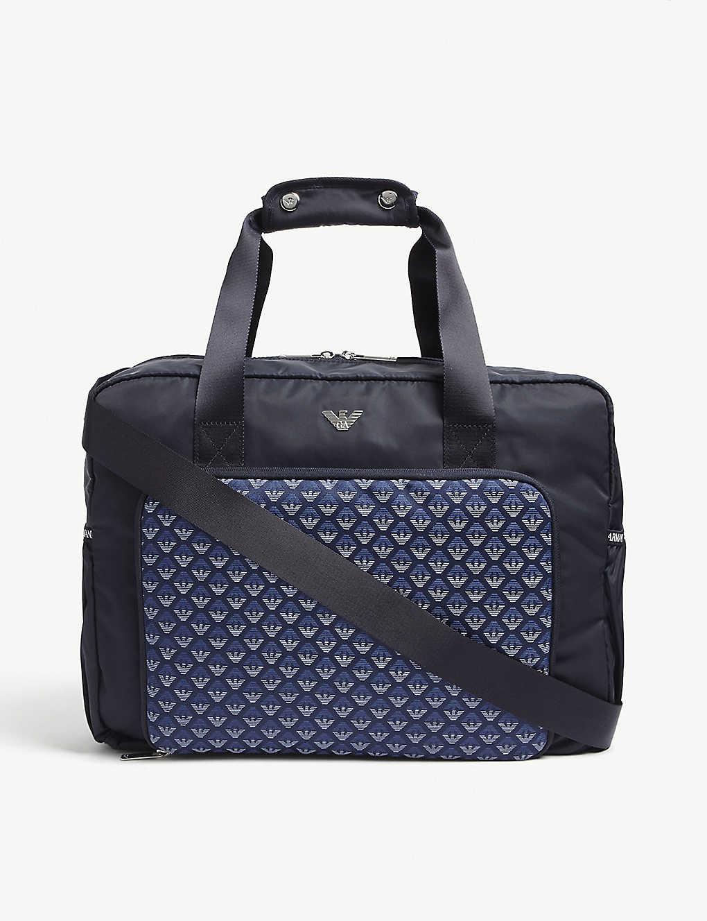 EMPORIO ARMANI - Eagle print changing bag  7cff73f82ed79