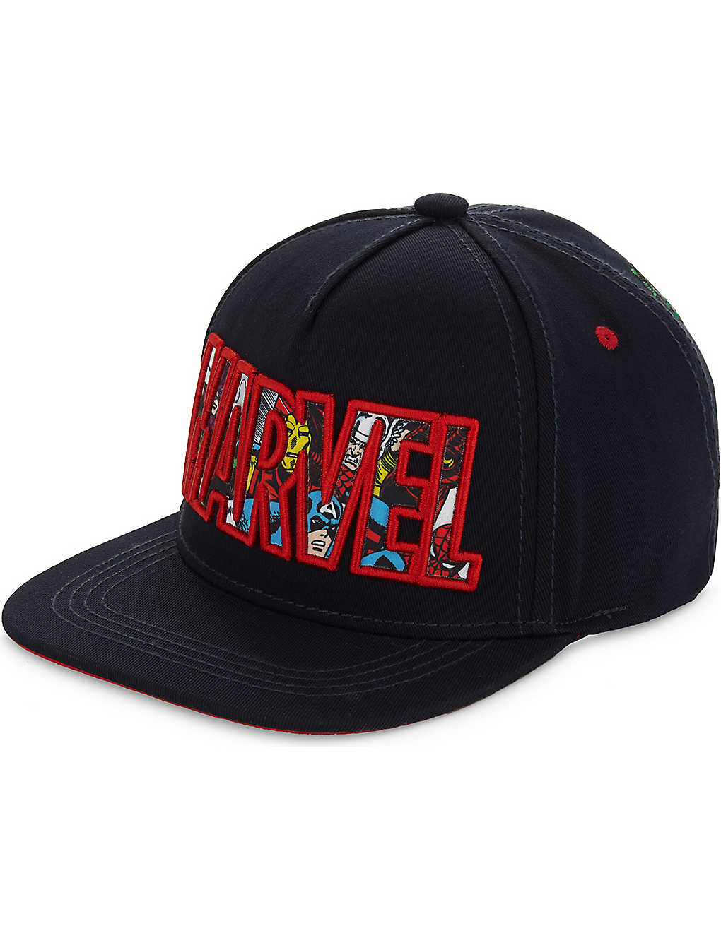 FABRIC FLAVOURS - Marvel Superheroes embroidered snapback cap ... ad8080b4375