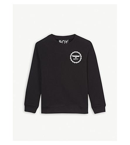 BOY LONDON - Eagle backprint cotton sweatshirt 3-16 years ... f7d715cd6
