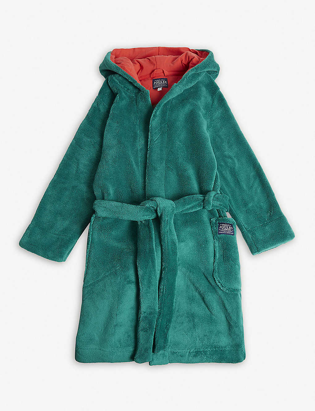 8d439d6c72e6 JOULES - Dinosaur hooded dressing gown 5-8 years