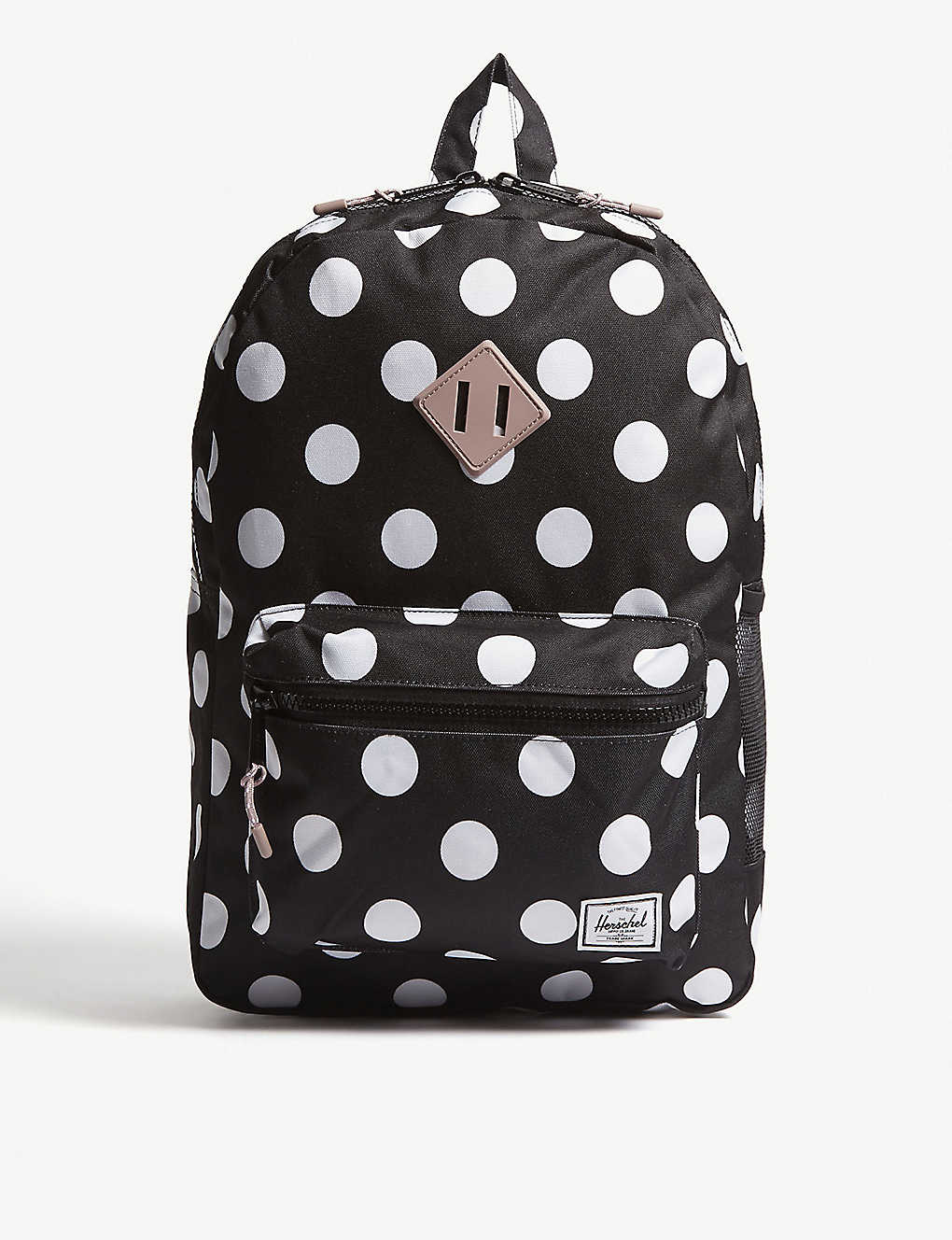 ab22ba66715a HERSCHEL SUPPLY CO - Heritage Youth XL polka-dot backpack ...