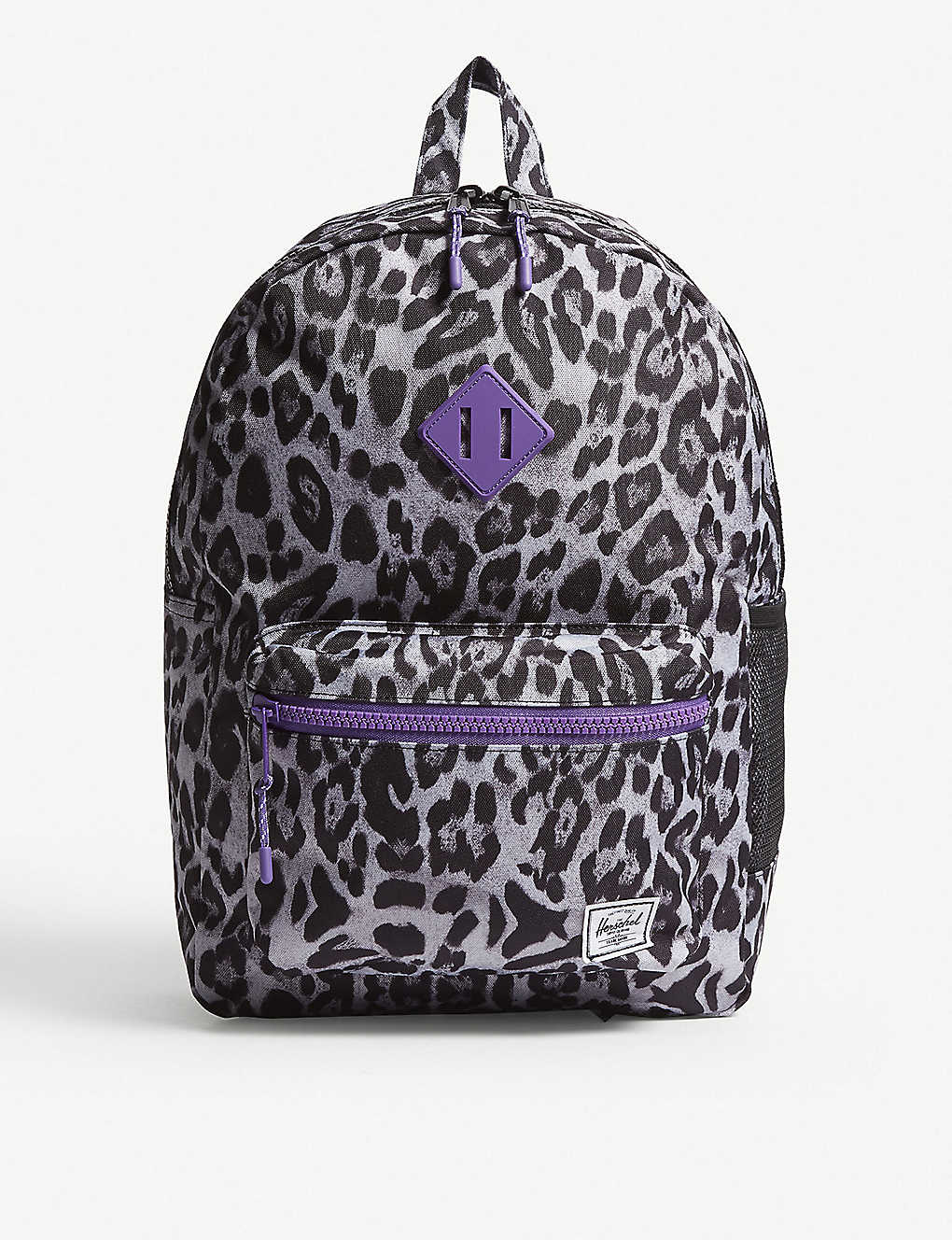 354b6ee65c HERSCHEL SUPPLY CO - Heritage Youth XL snow leopard print backpack ...