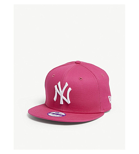 b0a3b8cc34e ... Yankees snapback cap (Pink white. PreviousNext