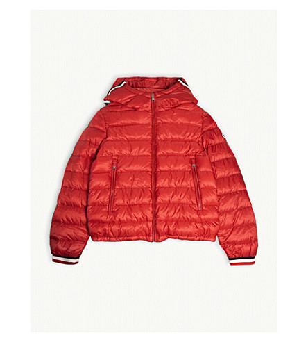 5927f1738 MONCLER - Giroux down hooded jacket 4-14 years