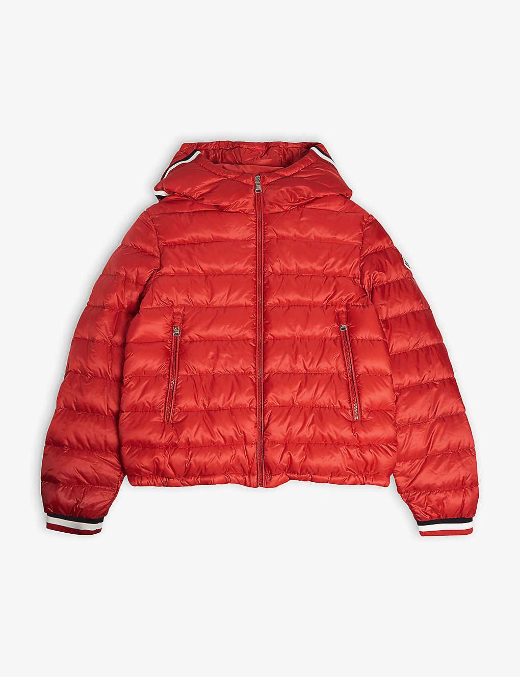 bc6bad87ba79 MONCLER - Giroux down hooded jacket 4-14 years