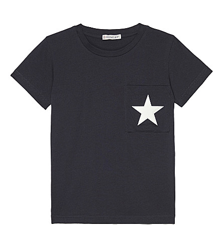 14e6011ee MONCLER - Star cotton T-shirt 4-14 years