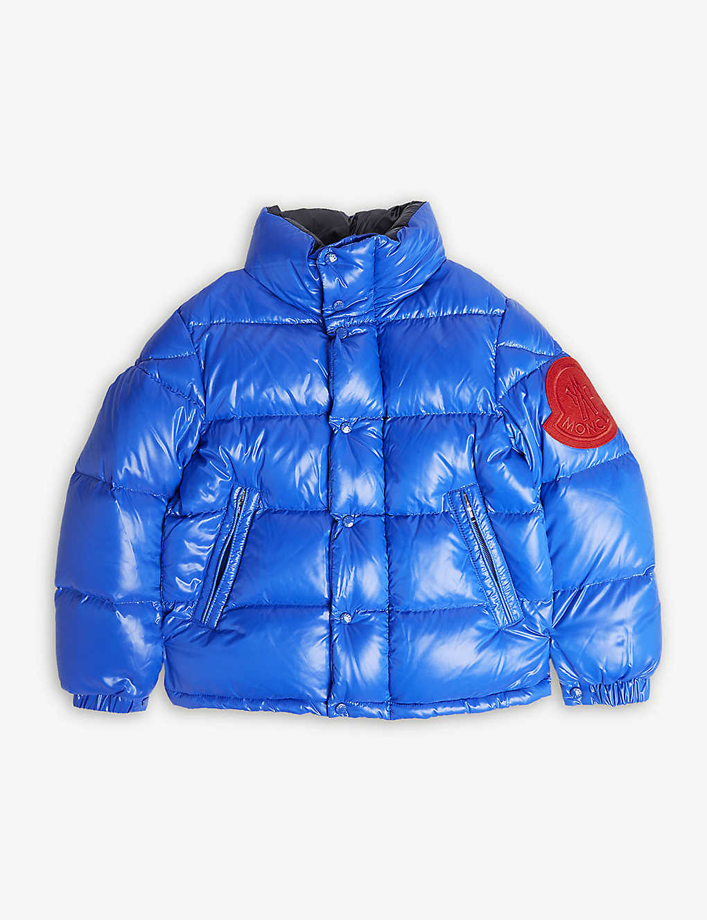 3795767d1533 MONCLER - Dervaux logo padded jacket 4-14 years
