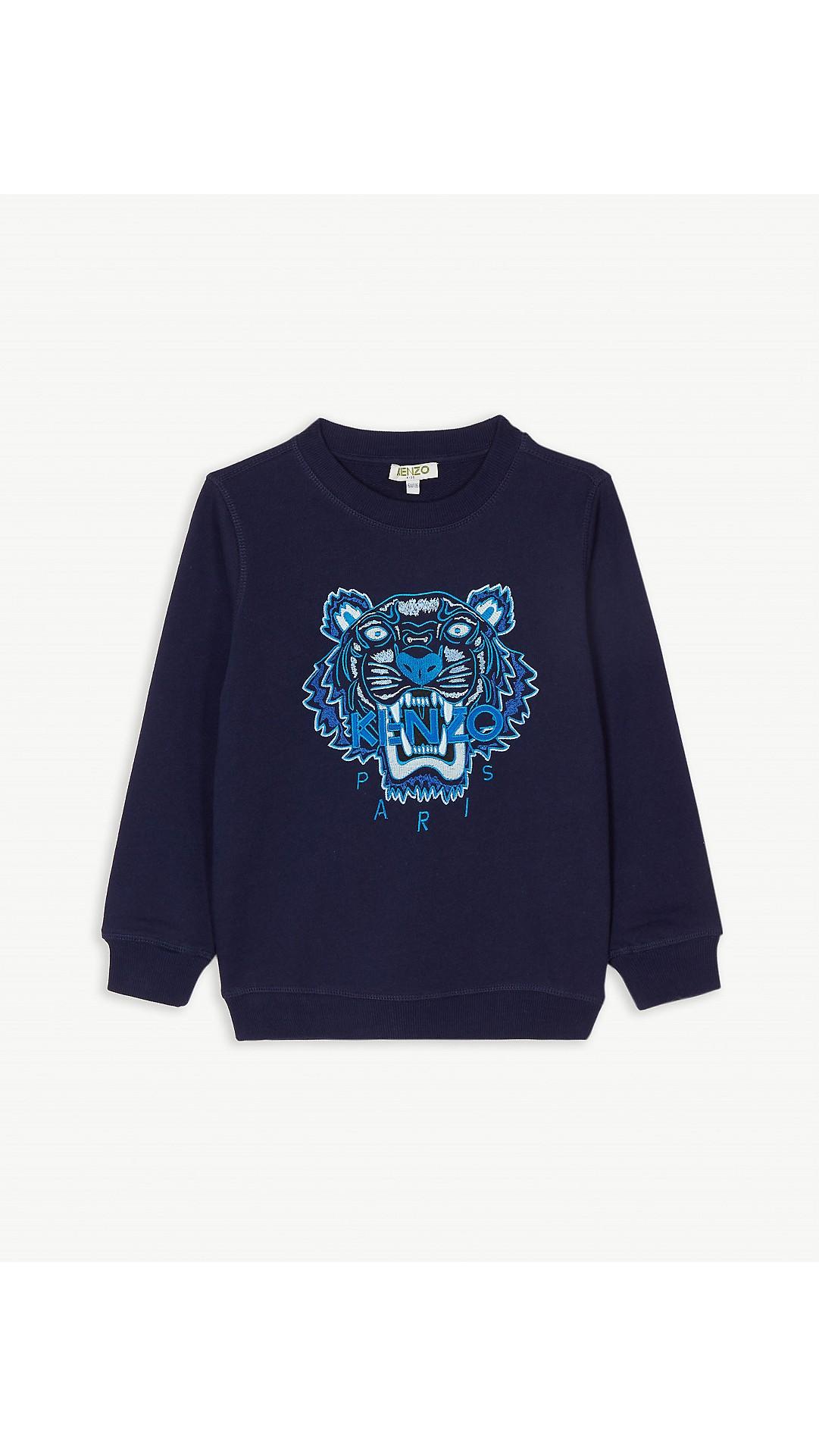d97d47ad2 KENZO - Icon tiger motif cotton sweatshirt (4-14 years) | Selfridges.com