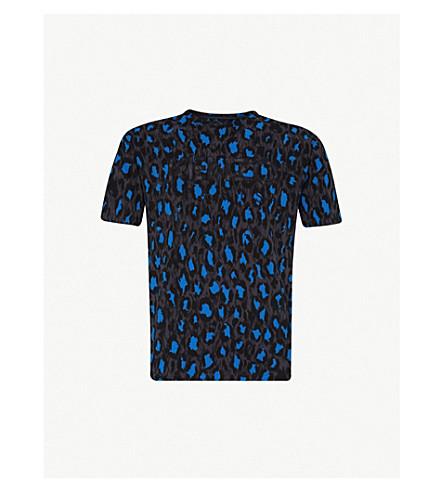 KENZO - Leopard-print cotton-jersey T-shirt   Selfridges.com d594da49a1f