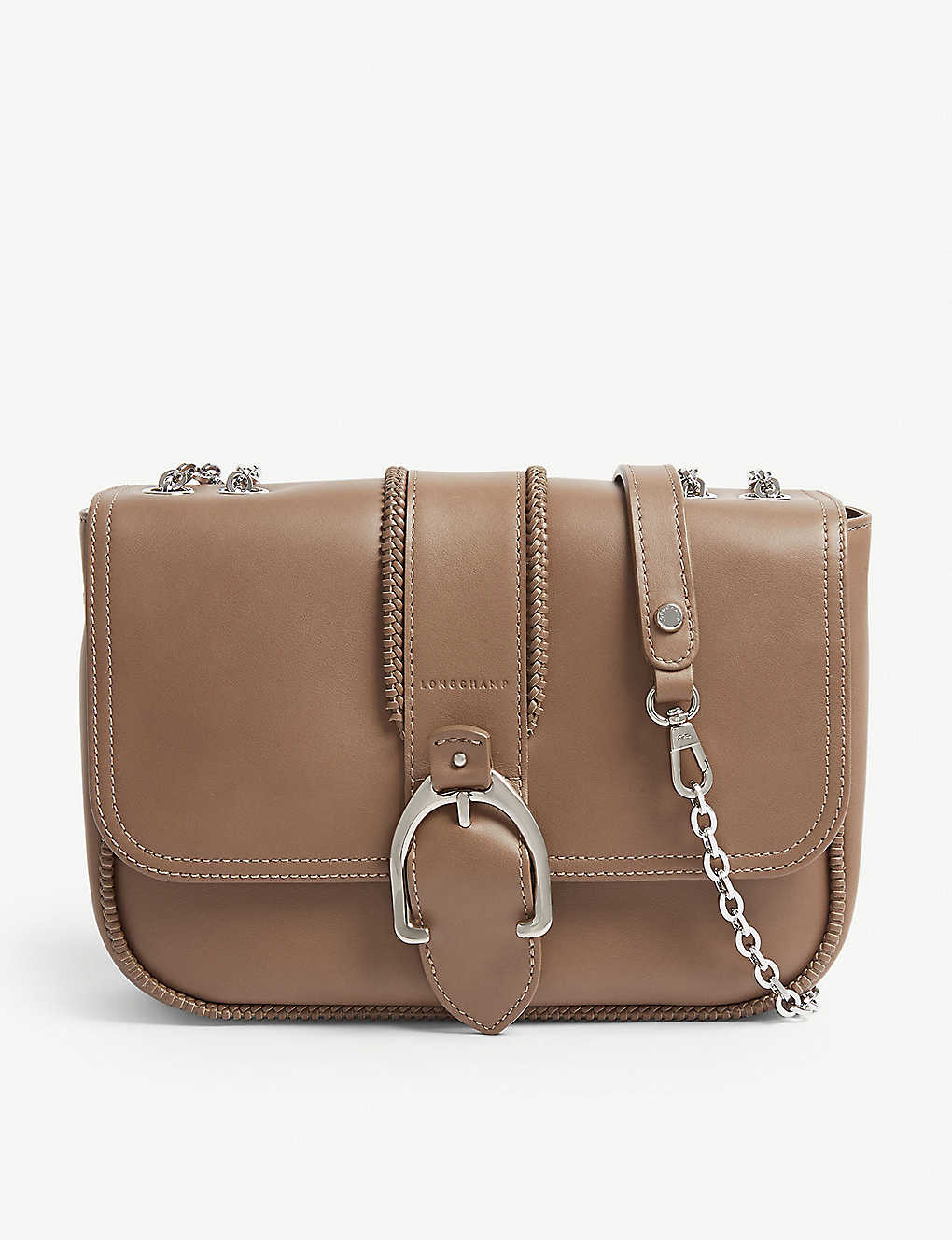 e7eb287d7b14 LONGCHAMP - Amazone leather shoulder bag