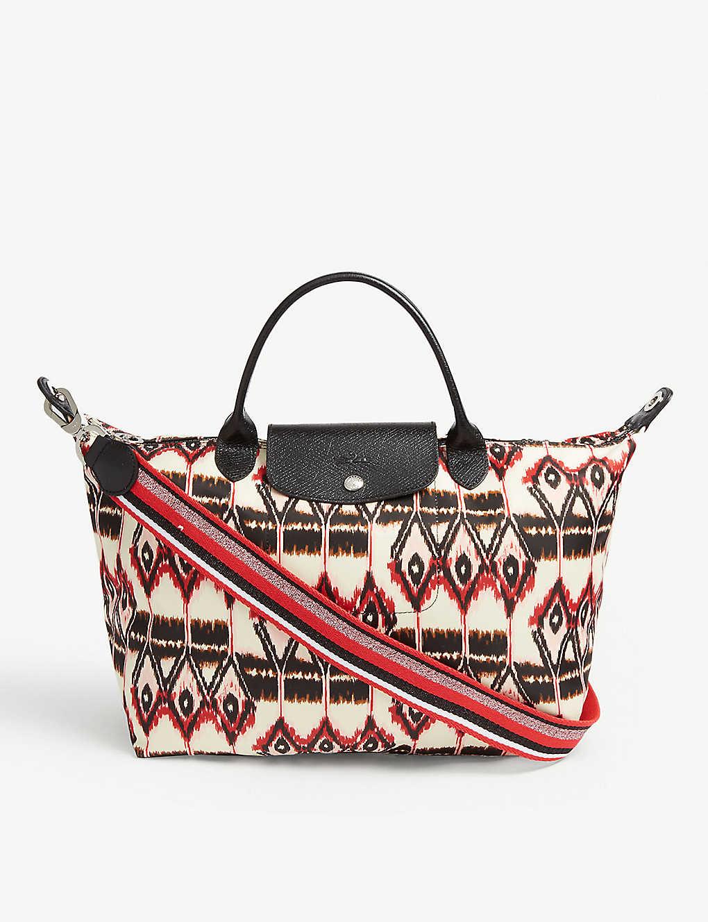 LONGCHAMP - Le Pliage Ikat top handle bag  41c9190f821a2