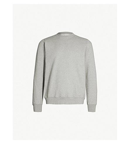 COLOURFUL STANDARD - Crewneck organic cotton-jersey sweatshirt ... 9ce07c08b76cf
